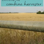 Canal walks and chasing the combine harvester
