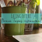 Eating out at the delicious Brava Tapas restaurant Banbury