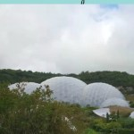 Beautiful gardens at the Eden Project Cornwall
