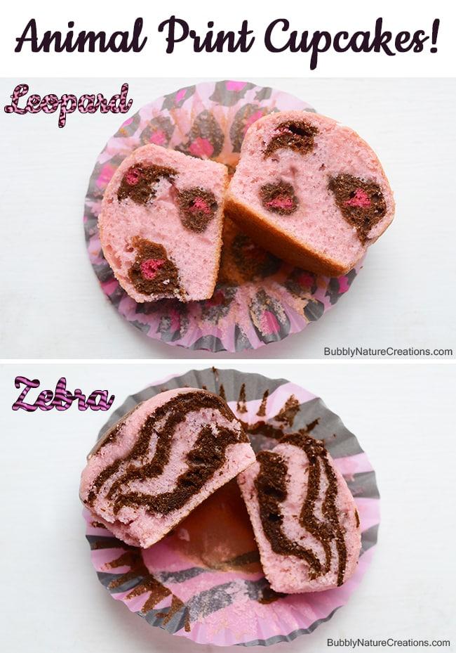 Animal Print Cupcakes! 10