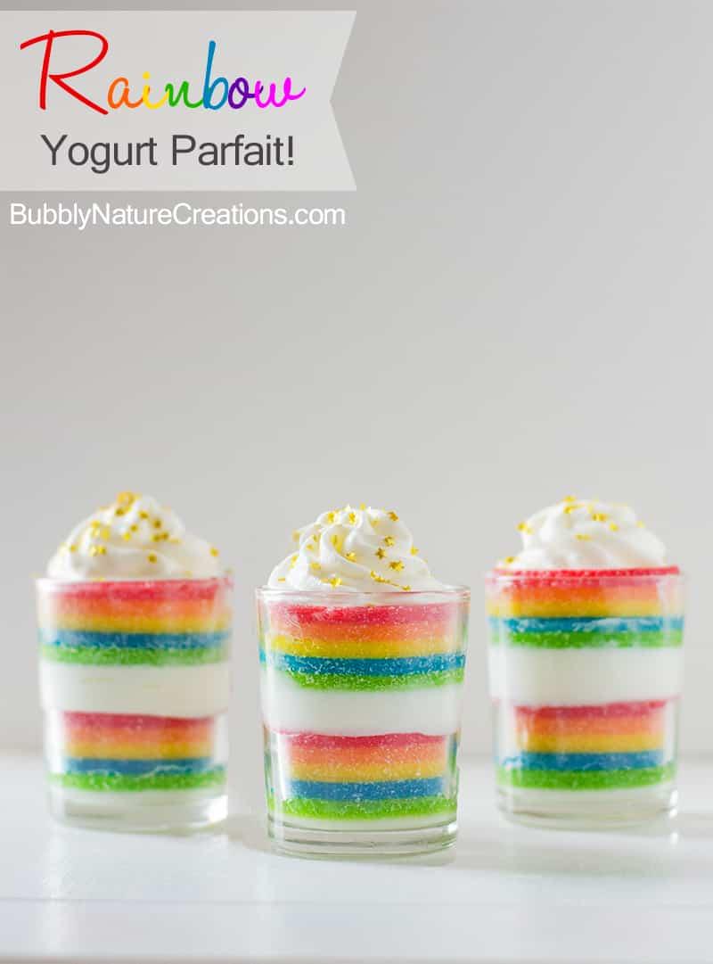 Rainbow Yogurt Parfait2