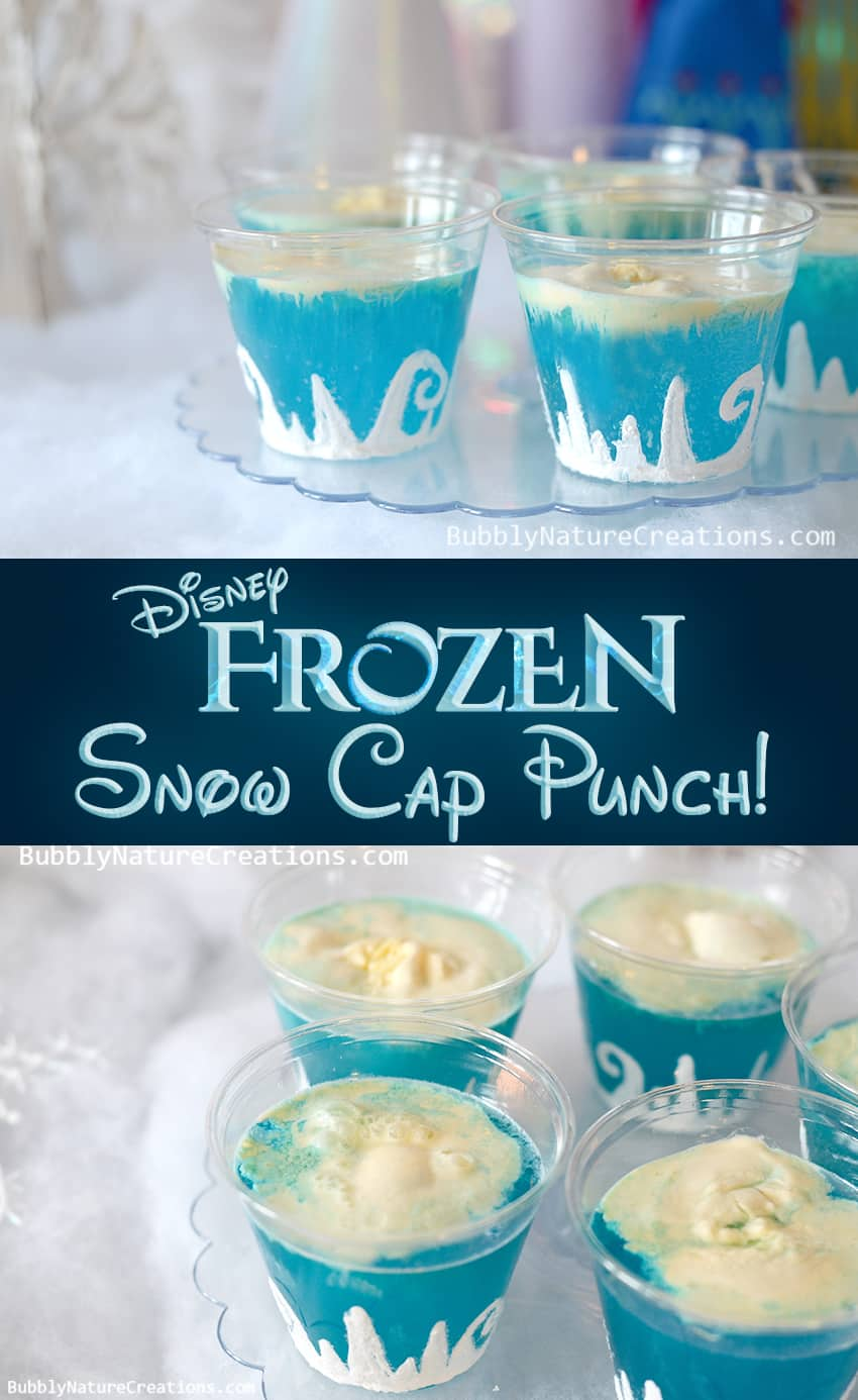 Disney Frozen Snow Cap Punch!