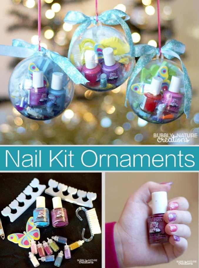 Nail Kit Ornaments