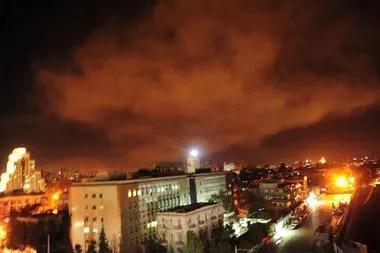 Bombardeos de EE.UU. en Siria