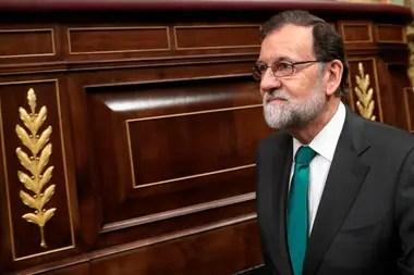 El presidente está acusado de formar parte del caso Gürtel, una trama de corrupción