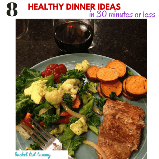 8 quick and easy nutritious dinners