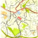 W2 - Winter Route 2 - Bourtonville-Page Hill-Overn Avenue-Industrial Estate