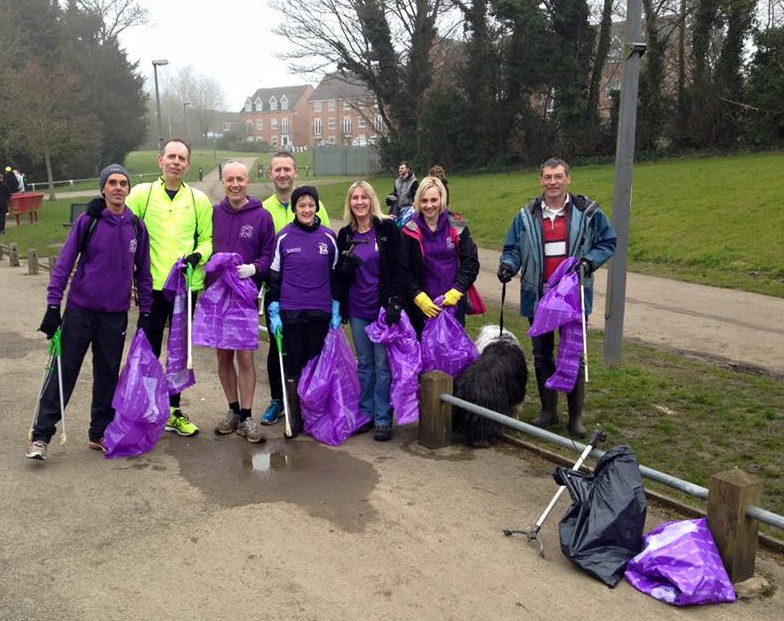 litter pickers March 2016
