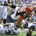 "Tyler Eifert says ""I don't know if anyone knows catch rule."""