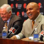 The Browns are shopping the second pick.