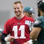 Carson Wentz impresses new Eagles headcoach