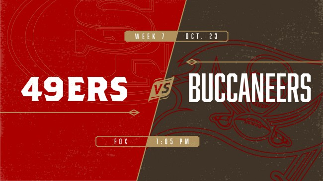 Week7: Buccaneers @ 49ers the Battle of the Bays