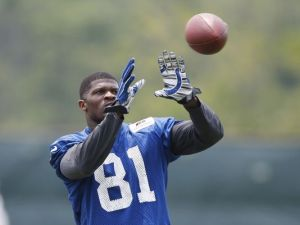 Andre Johnson visits the Titians.