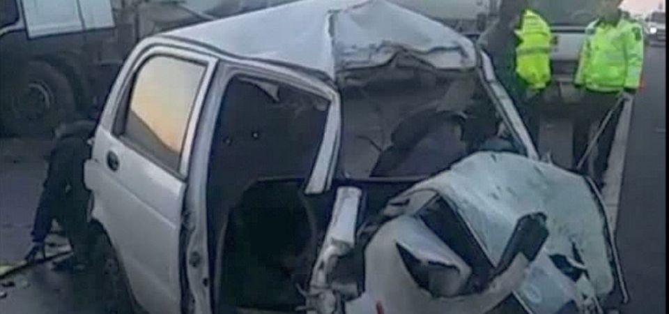 Carambol la iesirea din Bucuresti: 4 masini implicate in accident!
