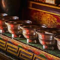 Buddhist Water Bowl Offerings as an Antidote to Attachment