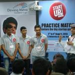 Rakesh Patel with Participants at Startup 20-20