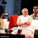 Narendra Modi at Surat Night Marathon 2014