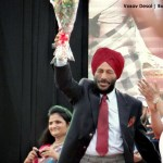 Milkha Singh at Surat Night Marathon 2014