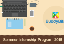 BuddyBits Summer Internship Program 2015