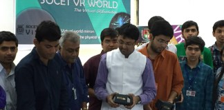 Silver Oak College becomes first Indian college to launch a product on Virtual Reality!
