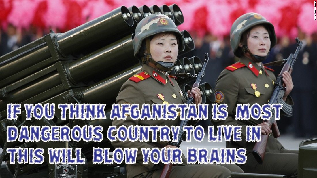 15 facts to prove North Korea is a Scary and Funny Country.