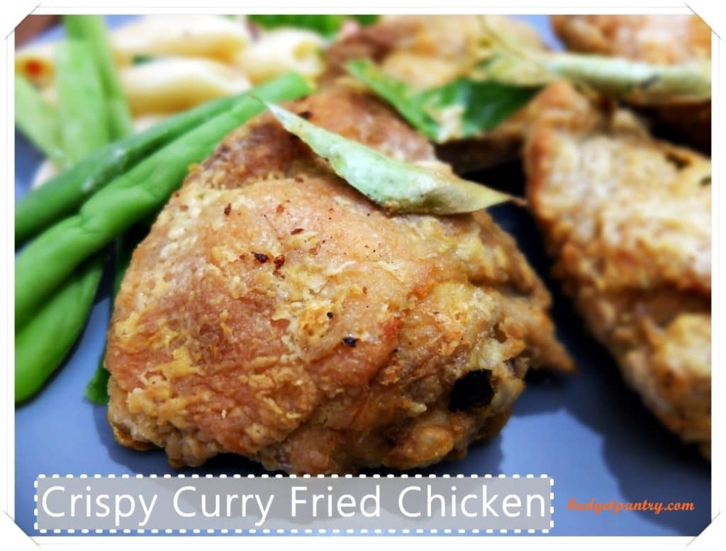 Crispy Curry Fried Chicken (Airfried)