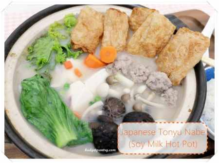 April 18- Japanese Tonyu Nabe