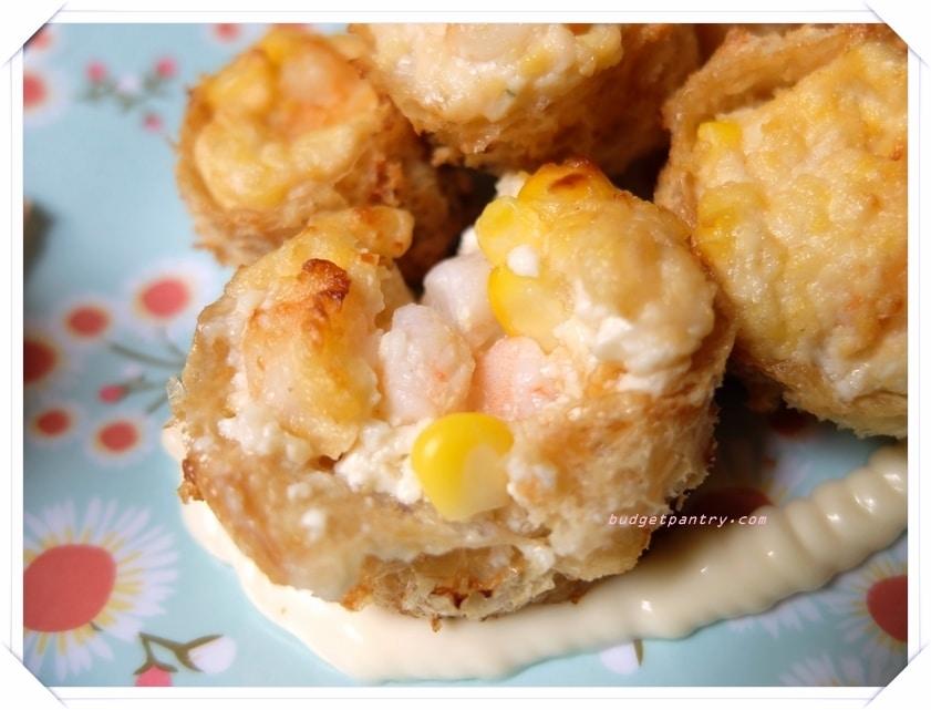 Air Fried Tofu Puffs