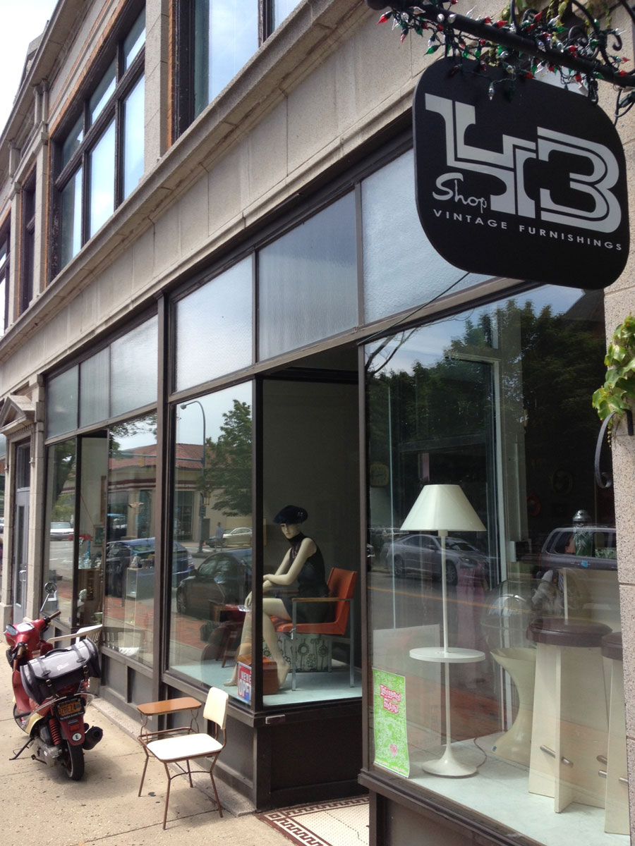 Shop adds to the retro vibe of allentown buffalo rising
