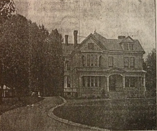Hager's Mansion on his East Delavan Avenue farm, no longer extant