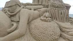 Sand sculpture festival Weston-Super-Mare 2015