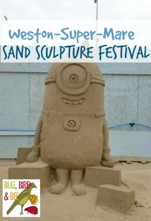Weston-Super-Mare Sand Sculpture festival 2015