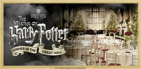 The Making Of Harry Potter- Dinner In The Great Hall