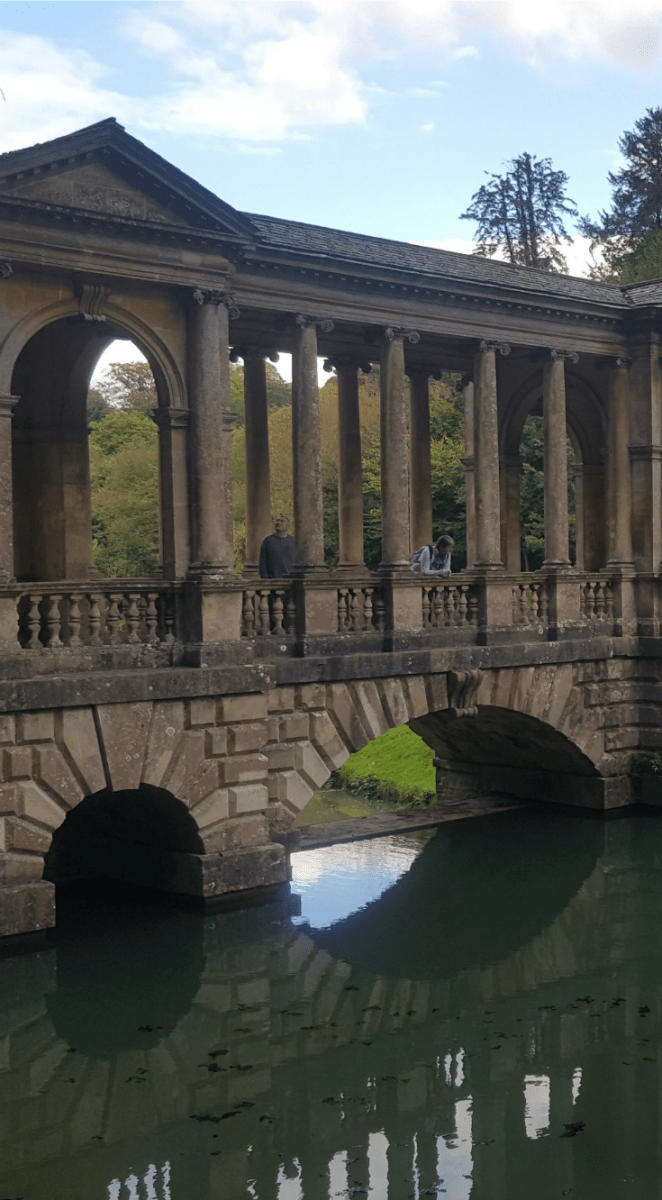 Family Hike Through Prior Park Landscape Gardens, Bath
