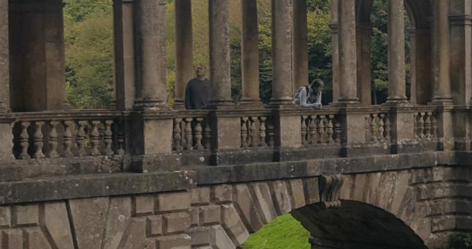 Family Hike Through Prior Park Landscape Gardens, Bath