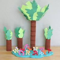 Make Your Own Chicka Chicka Boom Boom Play Set