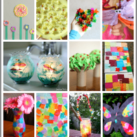 20+ Tissue Paper Art Projects for Kids {and a HUGE Cash Giveaway!)