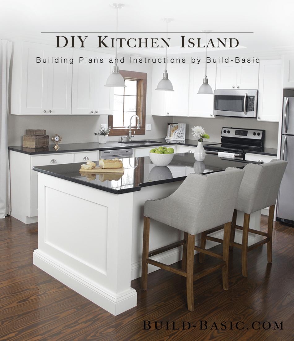 build a diy kitchen island 2 kitchen island cabinets