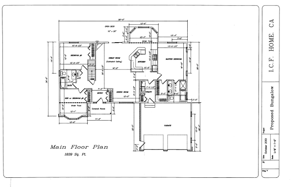 Featured Floor-plan of the Month: The Ravenswood