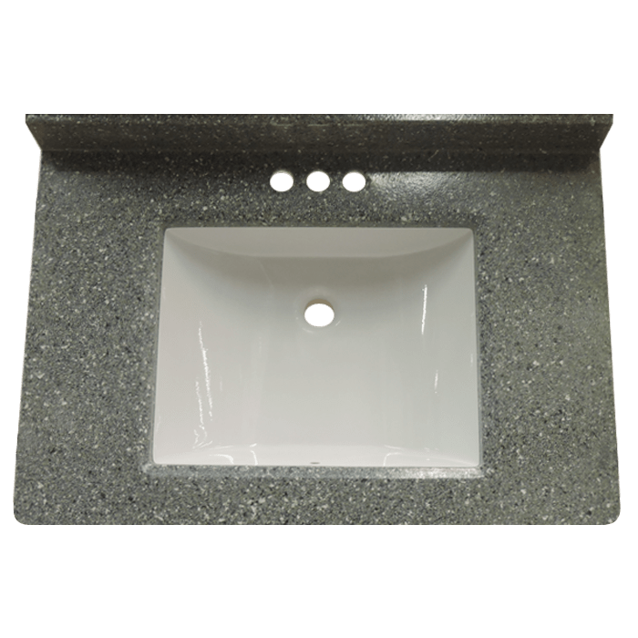 the boulder 22 x 49 cultured marble vanity topis a granite cultured marble vanity top option