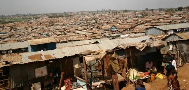 A view of Kibera Slums