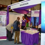 BUILDesign Magazine stand at SECPROTEC EA