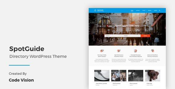 SpotGuide by CodeVisionThemes (WordPress theme)