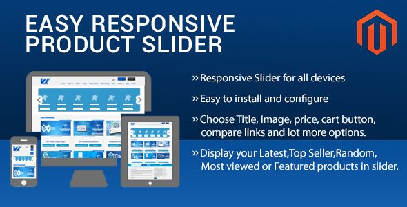Easy Responsive Product Slider Magento Extension by Vivacityinfotech (Magento extension)