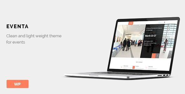Eventa by Geothemes (event & conference WordPress theme)