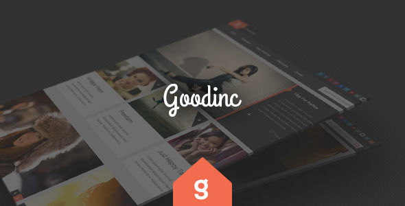 GoodInc Flat Responsive WordPress Blog by WPExplorer (WordPress theme with infinite scrolling)