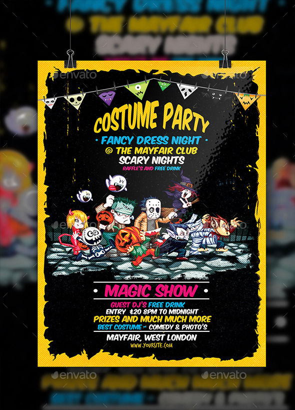 Halloween Flyer by Solowork (Halloween party flyer)