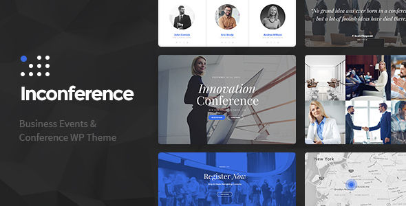 In Conference by Cmsmasters (event & conference WordPress theme)