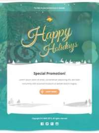 X - mas 3 - Responsive Email Template