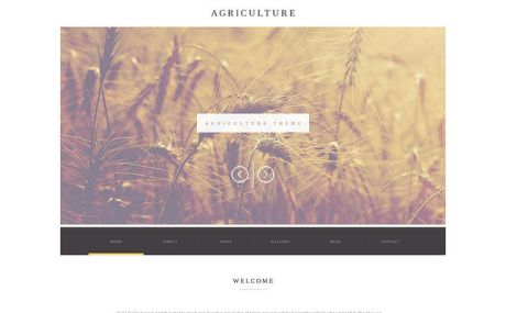 Agriculture Business WordPress Theme (farming and agricultural WordPress theme) Screenshot